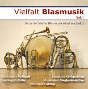 CD Cover Vielfalt Blasmusik vol. 1