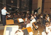 Rundfunkaufnahme 1980 mit Kpm. Rudolf Hacker