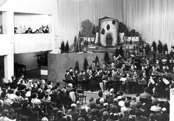 Konzert im alten Tullner Stadtsaal