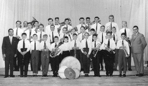 Tullner Jugendkapelle anno 1960