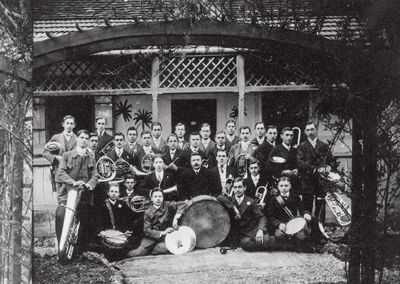 Jugendkapelle anno 1912