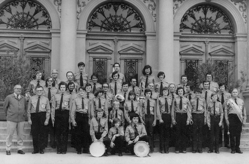 Blasmusikkapelle Tulln 1972